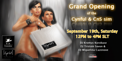 CnS e-motion + [ Cynful ] Grand Sim Opening - Teaser #2